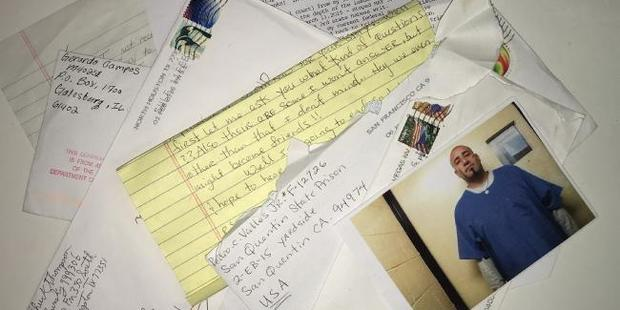 Letters from death row. Photo / news.com.au