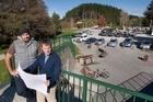 Rob Pitkethley and Tak Mutu talk about new developments at the Waipa mountainbike park.