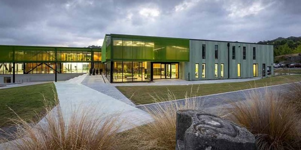 Waiariki Institute of Technology's health and science building. PHOTO/GRAEME MURRAY