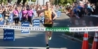Watch: Marathon winner interview.