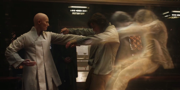 Loading Tilda Swinton and Benedict Cumber star in the upcoming Marvel movie Doctor Strange.