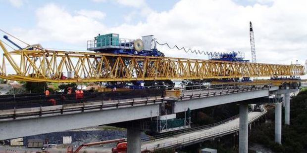 NZTA's highway manager Brett Gliddon said the gantry had been critical to the project. Photo: graysonline/Trade Me