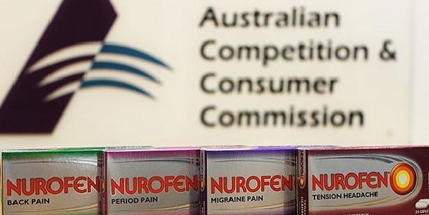 The pain continues for Nurofen. Photo / news.com.au