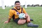 Eljae Pukeiti-Mara was happy to be back playing league. Photo / Greg Bowker