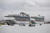 The Diamond Princess (left) and Golden Princess were two of 74 ships to come to Tauranga this season. Photo / George Novak