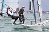 IN CONTENTION: Tauranga's Molly Meech, left, and Alex Maloney are among several New Zealanders competing at the 2016 Sailing World Cup in Hyeres. PHOTO/GETTY IMAGES