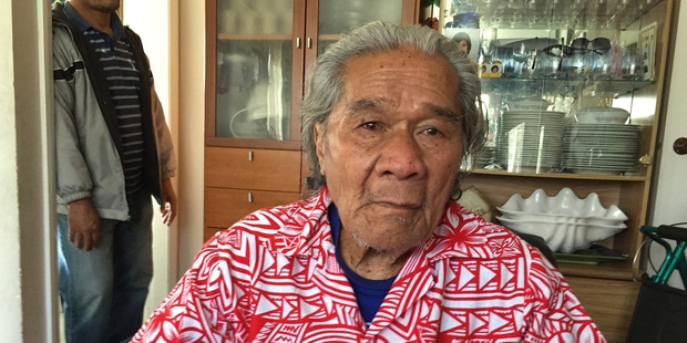 Setefano Va'a is almost totally deaf and is cared for by his niece's family.