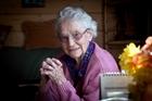Elizabeth Barney turns 100 today. Photo / Andrew Warner