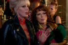A scene from the upcoming film Absolutely Fabulous: The Movie.