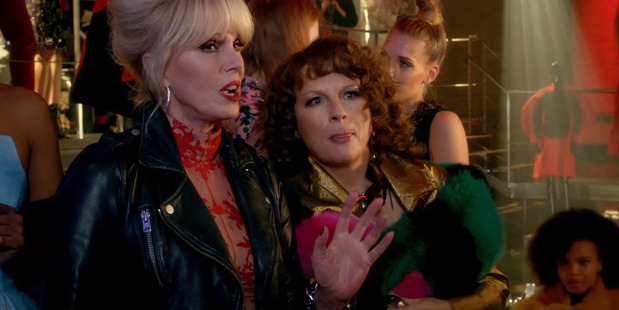 Loading A scene from the upcoming film Absolutely Fabulous: The Movie.