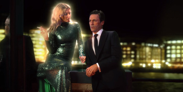 Kate Moss and Jon Hamm make a cameo in the new Absolutely Fabulous movie.