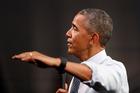 US President Barack Obama appears to like using British English. Photo / AP