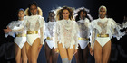 Beyonce performs during the Formation World Tour at Marlins Park in Miami, Florida. Photo/AP