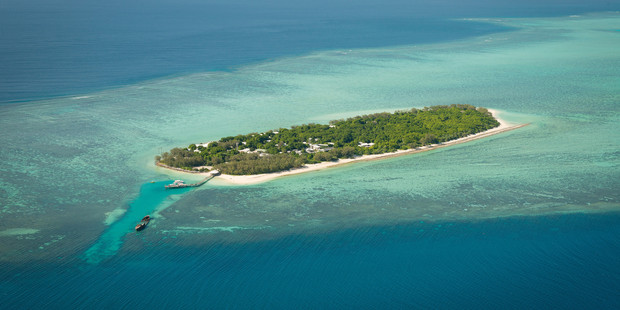 Heron Island on the Great Barrier Reef.