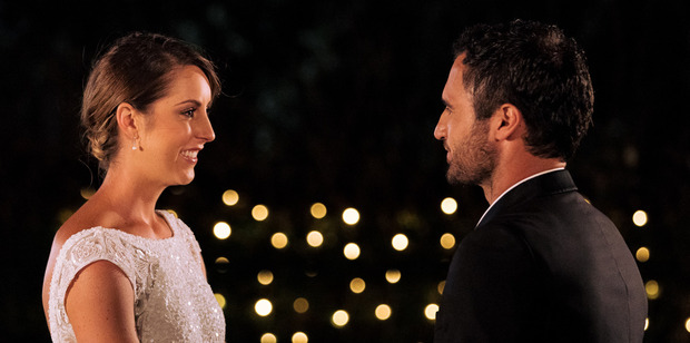 Jordan Mauger says goodbye to Gab after eliminating her from The Bachelor NZ.