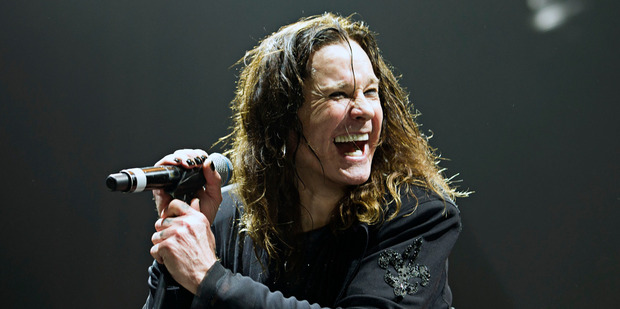Ozzy Osbourne performs with Black Sabbath during The End farewell tour.