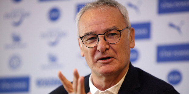 Leicester City manager Claudio Ranieri. Photo / Getty