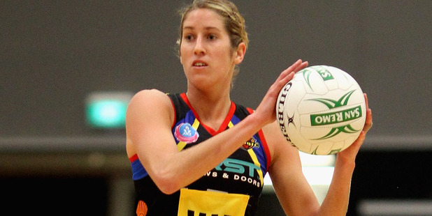 Jessica Tuki playing for the Waikato Bay of Plenty Magic. Photo / Getty Images