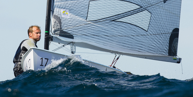 Josh junior during the 2014 ISAF Sailing World Championships. Photo / Getty Images