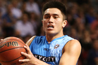 Reuben Te Rangi playing for the New Zealand Breakers. Photo / Getty Images