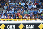 The crowd watches a test at the WACA. Photo / Getty