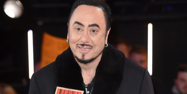 David Gest entering the Celebrity Big Brother House earlier this year. Photo / Getty Images