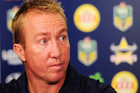 Roosters coach Trent Robinson. Photo / Getty