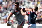 Kiwis and Warriors forward Ben Matulino. Photo / Getty