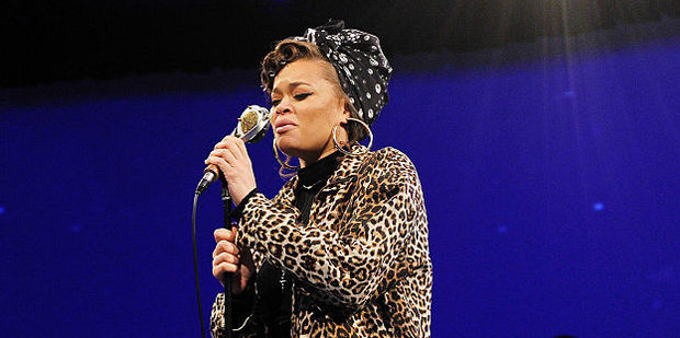 Singer Andra Day performs at PTTOW! Summit at Terranea Resort. Photo / Getty Images