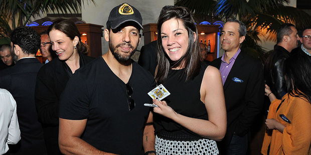 Illustionist David Blaine and guest attend the PTTOW! Summit at Terranea Resort at Terranea Resort. Photo / Getty Images