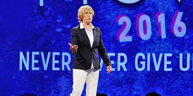 Athlete Diana Nyad attends the PTTOW! Summit at Terranea Resort at Terranea Resort. Photo / Getty Images