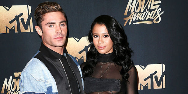 Zac Efron and Sami Miro have broken up. Photo / Getty Images