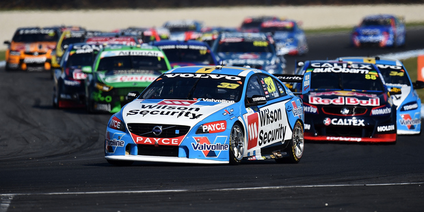 Scott McLaughlin during the V8 Supercars Phillip Island SuperSprint at Phillip Island. Photo / Getty Images