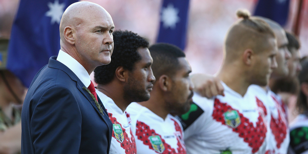 Dragons coach Paul McGregor will be preparing his side for the clash with the Warriors. Photo / Getty