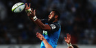 Patrick Tuipulotu of the Blues wins lineout ball. Photo / Getty Images