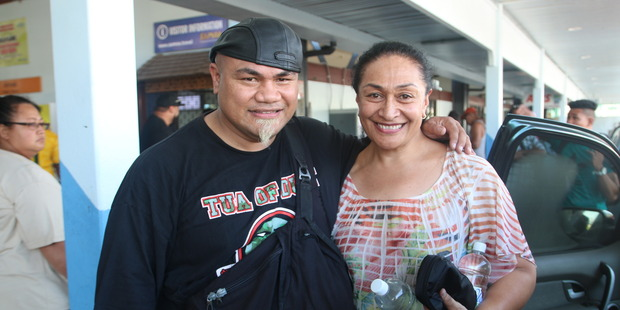 Loading David Tua with new wife Helen Tua. Photo / Samoa Observer