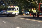 The crash occurred around 1.15pm at the junction of Hinuera Rd and Puketutu Rd, police said. Photo / Supplied