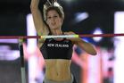Pole-vaulter Eliza McCartney. Photo / AFP
