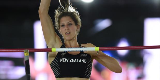 Loading Pole-vaulter Eliza McCartney. Photo / AFP