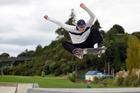 Bellevue teenager Alex Ireland, 14, shows off his moves. Photo / George Novak
