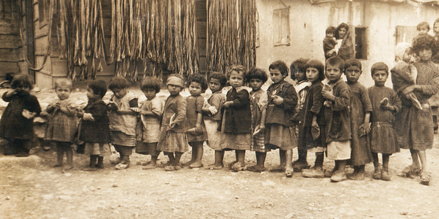 Armenian refugees at a camp in Aleppo Syria. Photo / Supplied