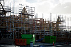 Construction continues in the new housing development at Hobsonville Point. Photo / Dean Purcell