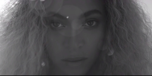 Loading Beyonce in a clip from video for her album Lemonade.