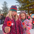 Mount Maunganui dawn service Daisy and Maya Cooper, 6 and 5. Photo/George Novak