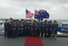 Squadron in US for Anzac service