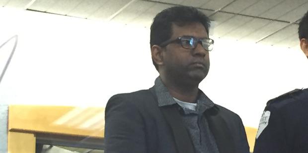 Double murder accused Kamal Gyanendra Reddy. Photo /Rob Kidd