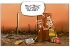 The the Land Tax proposal, too little too late? Illustration / Rod Emmerson