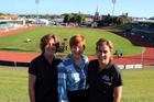 CHANGES: Whanganui Events Trust project manager Fiona Pickering, CEO Kathy Cunningham and event co-ordinator Kat Wade have announced the Masters Games will move into the central city.