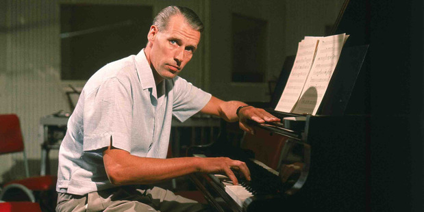 Producer Sir George Martin, pictured at work in the the 1960s, got the series Soundbreaking off the ground before he died earlier this year.