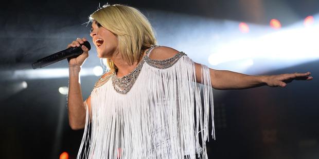 American Idol spawned Carrie Underwood's career. Photo / AP